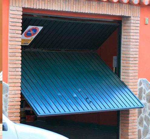 Sicilia hermanos puertas met licas puertas de garaje - Mecanismo puerta garaje ...