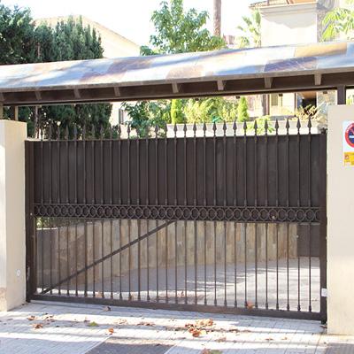 puerta corredera horizontal
